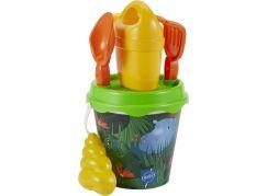 Ecoffier Kyblíček Džungle s konvičkou a příslušenstvím