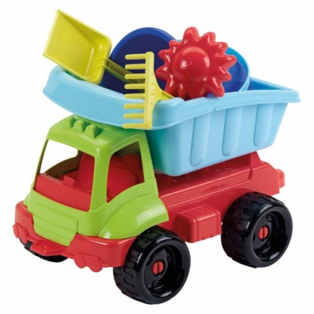 Ecoffier Nákladní autíčko s formičkami 34 cm