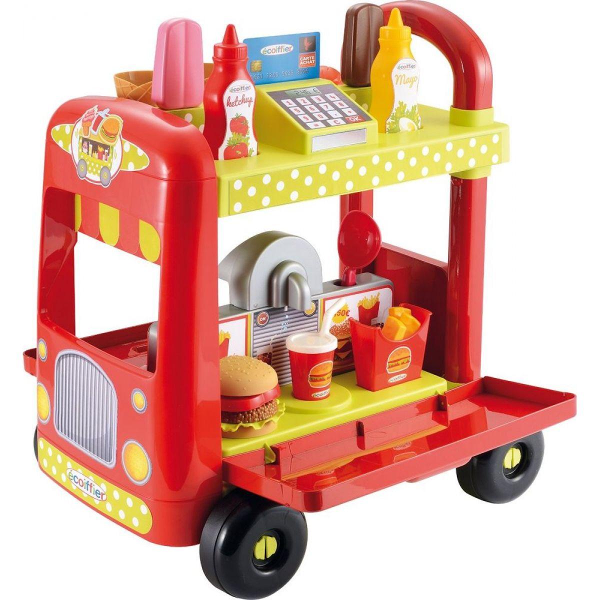 Ecoiffier Auto-stánek s občerstvením