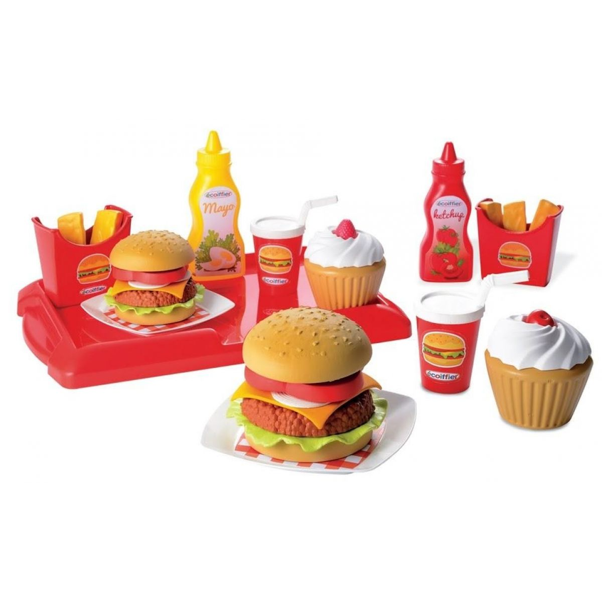 Ecoiffier Hamburger set
