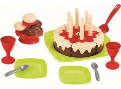 Ecoiffier Narozeninový dort s příslušenstvím
