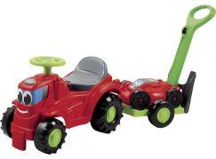 Ecoiffier Odrážedlo s vozíkem a sekačkou