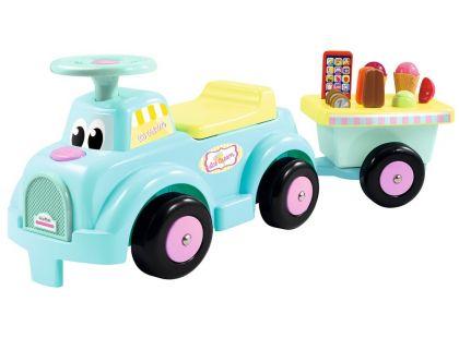 Ecoiffier Odrážedlo se zmrzlinářským vozíkem