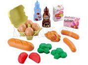 Ecoiffier Potraviny v síťce - snídaně