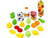 Ecoiffier Potraviny v síťce - ovoce a zelenina