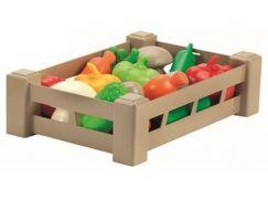 Ecoiffier Přepravka s ovocem nebo zeleninou Zelenina
