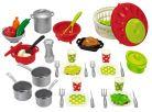 Ecoiffier Velká sada nádobí a jídla 2
