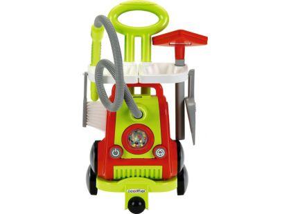 Ecoiffier Vozík pro uklízečku s vysavačem