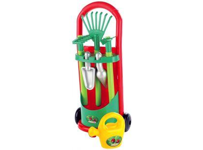 Ecoiffier Vozík se zahradním nářadím