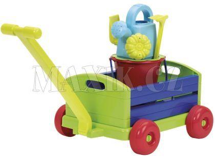 Ecoiffier Vozík s kyblíčkem a příslušenstvím