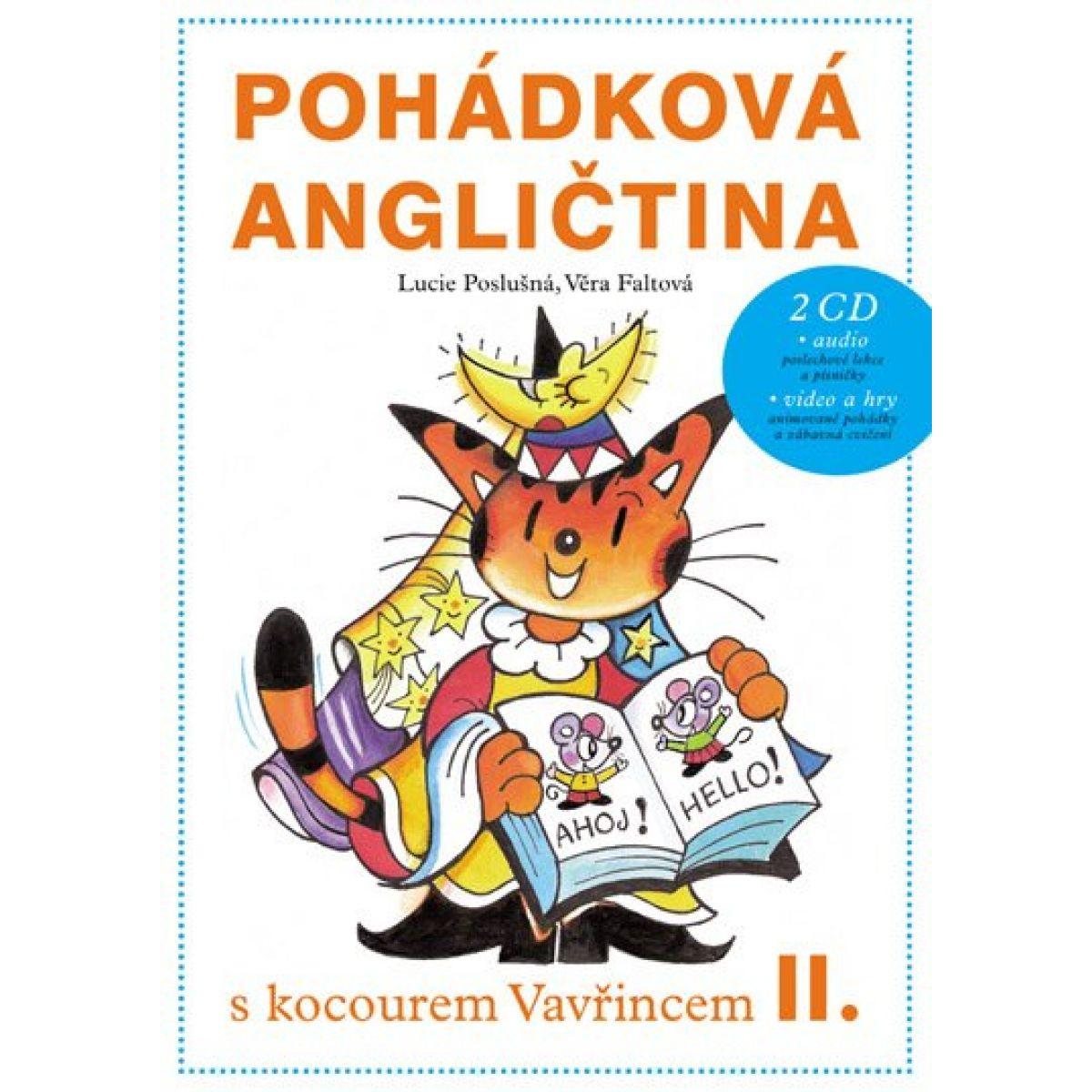 Edika Pohádková angličtina s kocourem Vavřincem II.