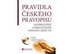 Edika Pravidla českého pravopisu + CD