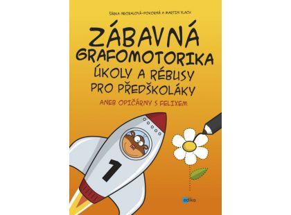 Edika Zábavná grafomotorika, úkoly a rébusy pro předškoláky