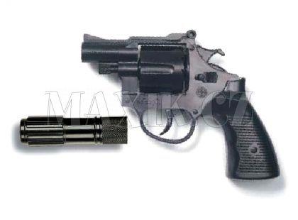 Edison Policejní revolver Americana s tlumičem 12 ran