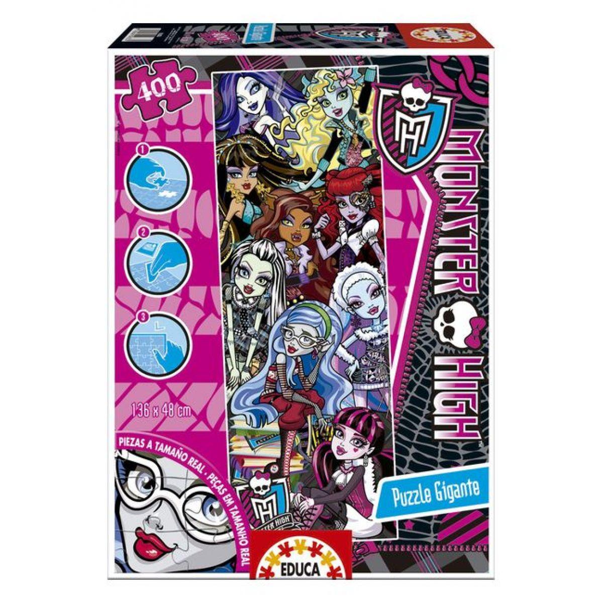 Educa Puzzle Monster High Gigant 400d