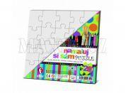 Efko Namaluj si sám puzzle 2 čtverce