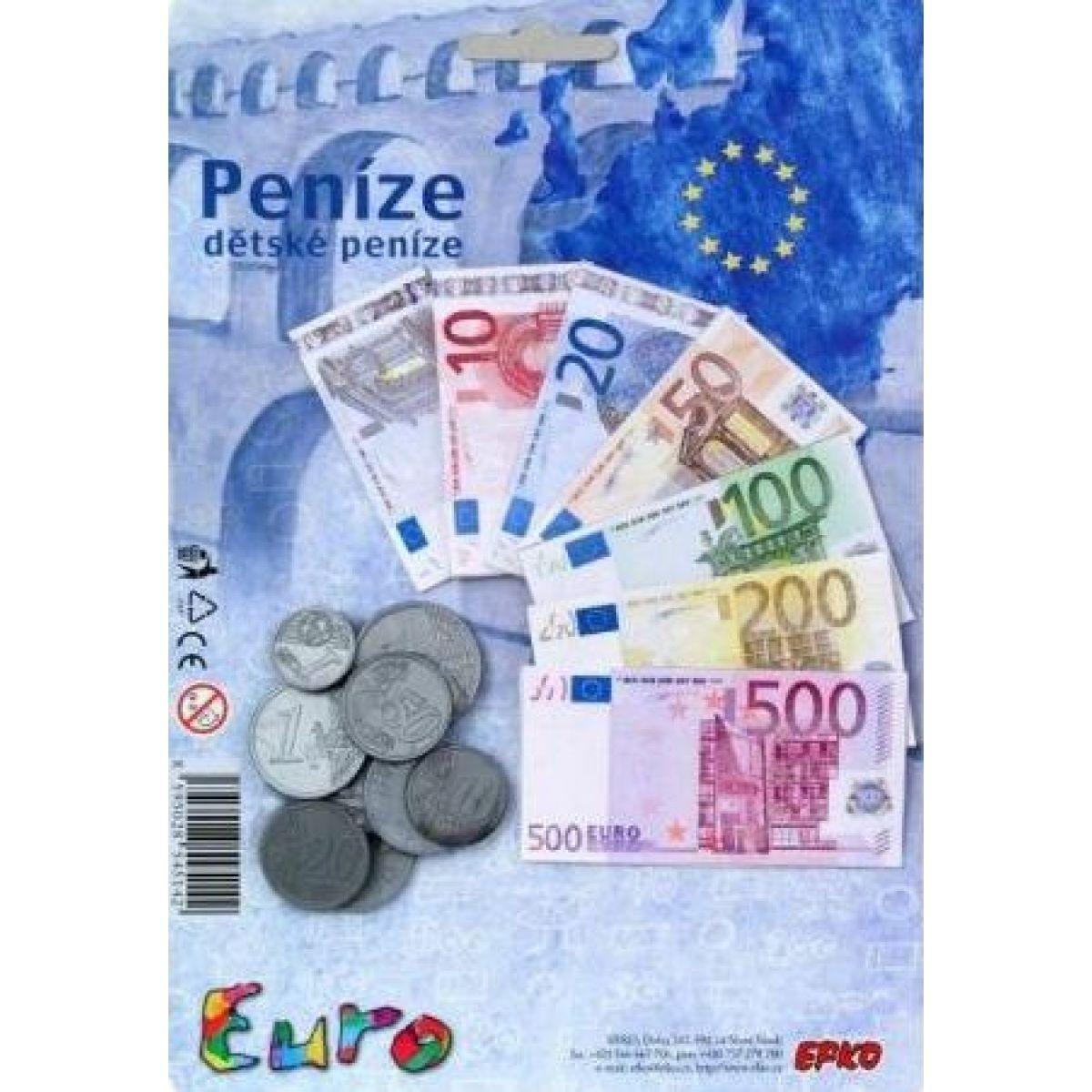 Efko Peníze dětské Euro