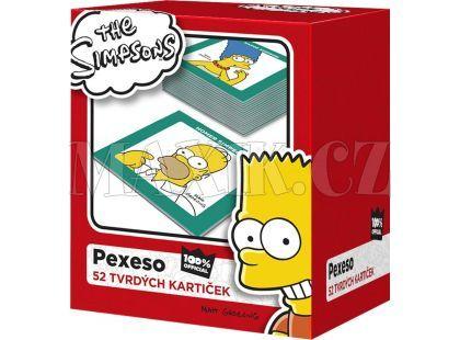 Efko Pexeso The Simpsons 52 tvrdých kartiček