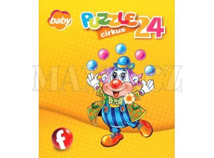 Efko Puzzle Cirkus 24 dílků