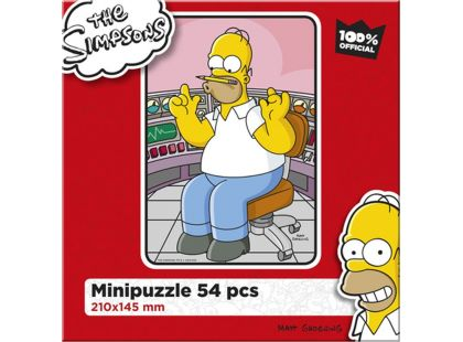Efko Puzzle The Simpsons Homer v práci