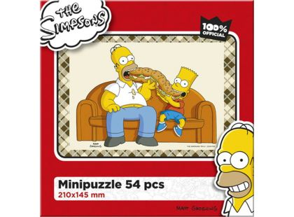 Efko Puzzle The Simpsons Maxibageta