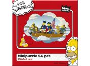 Efko Puzzle The Simpsons Pánská jízda