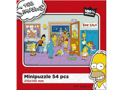 Efko Puzzle The Simpsons Pohoda ve škole