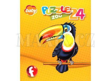 Efko Puzzle Zoo 24 dílků