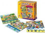 Efko Soubor puzzle 3 v 1 Moje rodina