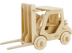 Eichhorn 3D puzzle přepravní prostředek Vysokozdvižný vozík