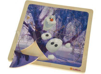 Eichhorn Disney Frozen Dřevěné puzzle - Olaf