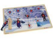 Eichhorn Disney Frozen Dřevěná vkládačka