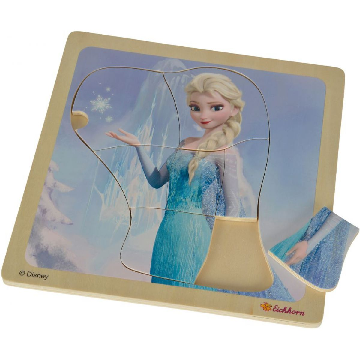 Eichhorn Disney Frozen Dřevěné puzzle - Elsa