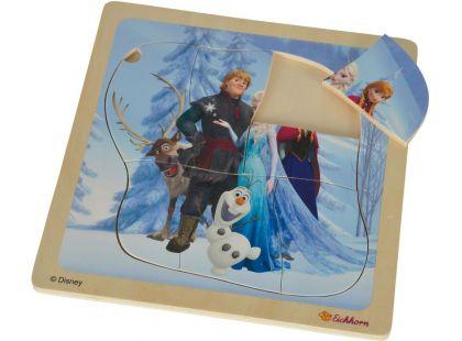 Eichhorn Disney Frozen Dřevěné puzzle - Hlavní hrdinové