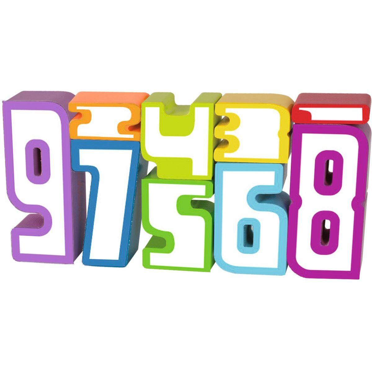 Eichhorn Dřevěné číslice