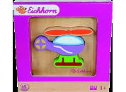 Eichhorn Dřevěné puzzle pro nejmenší vrtulník