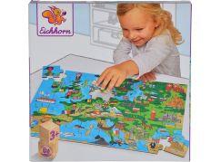 Eichhorn Dřevěné puzzle s pohádkou