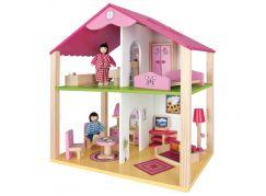 Eichhorn Dřevěný malý domeček pro panenky