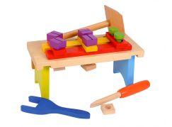 Eichhorn Dřevěný pracovní stolek s příslušenstvím