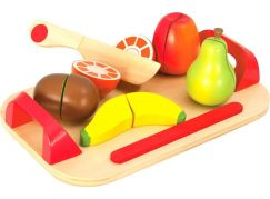 Eichhorn Set prkénko s nožem a ovocem