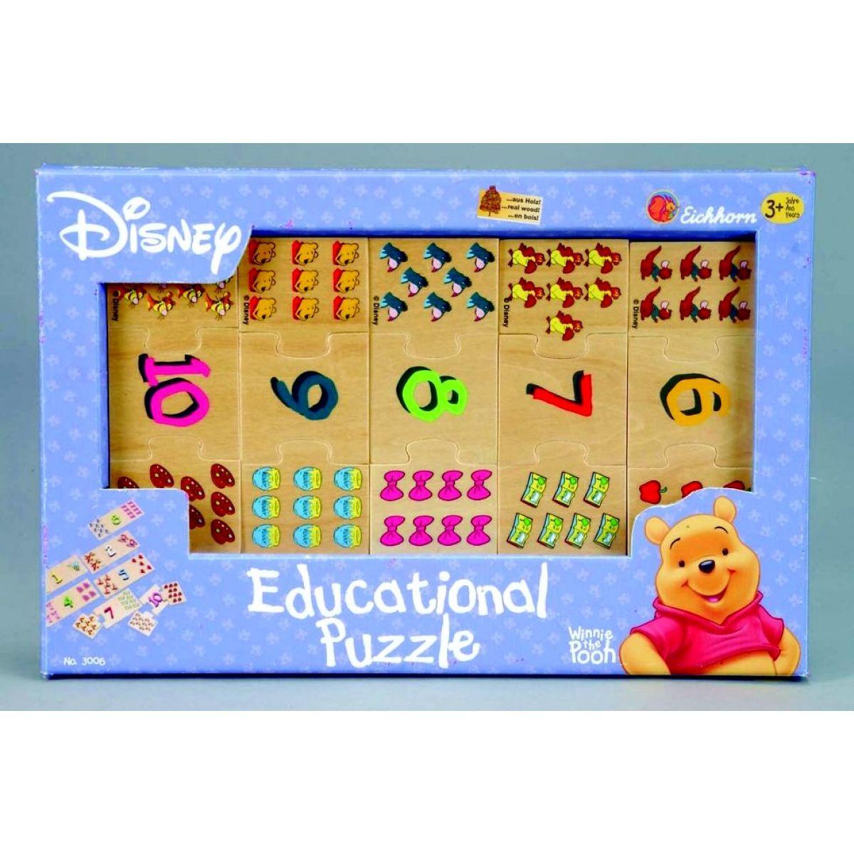 Eichhorn WD Puzzle WTP s čísly Simba