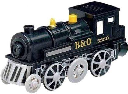 Elektrická lokomotiva - černá MAXIM 50254 - Poškozený obal