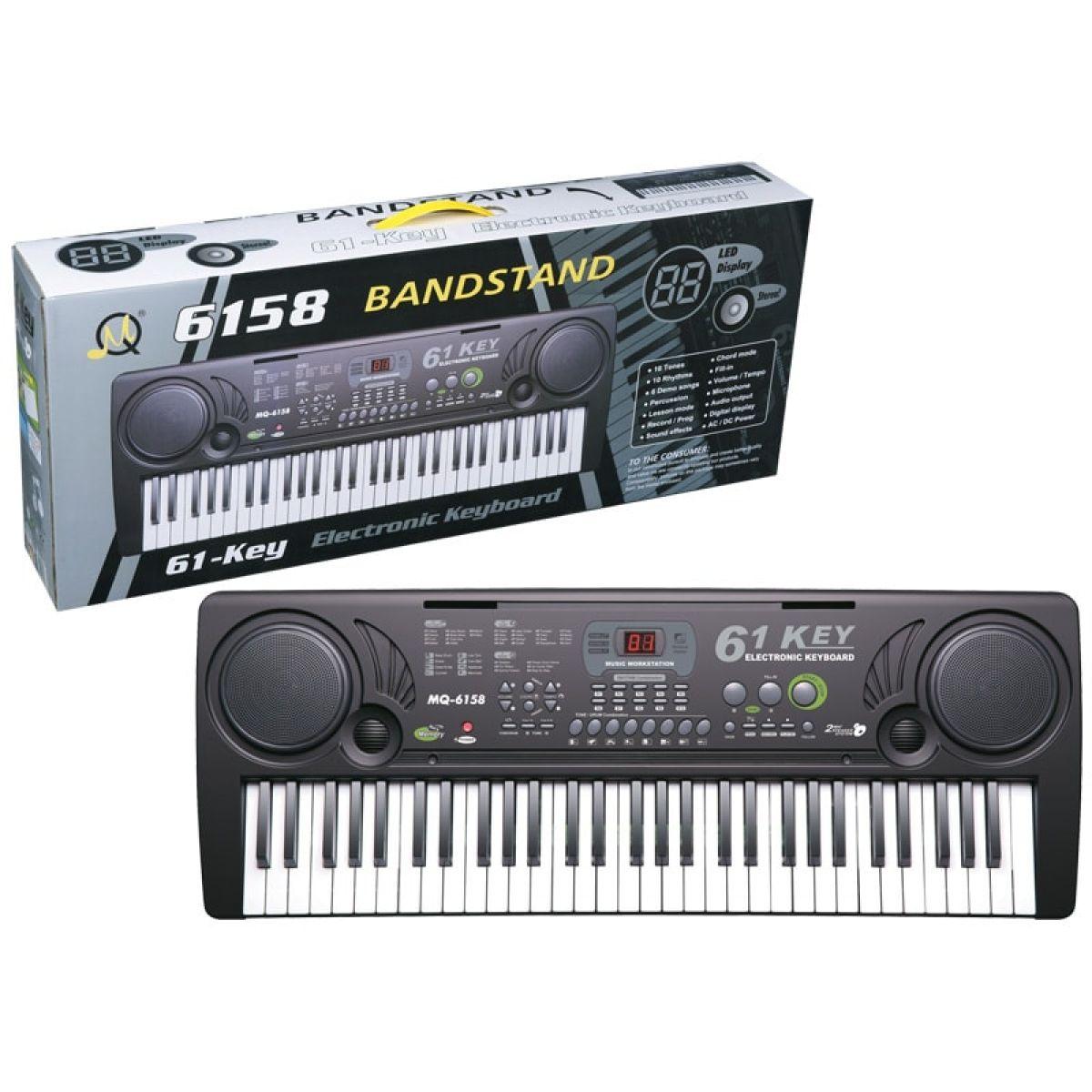 Elektronické klávesy 61 kláves