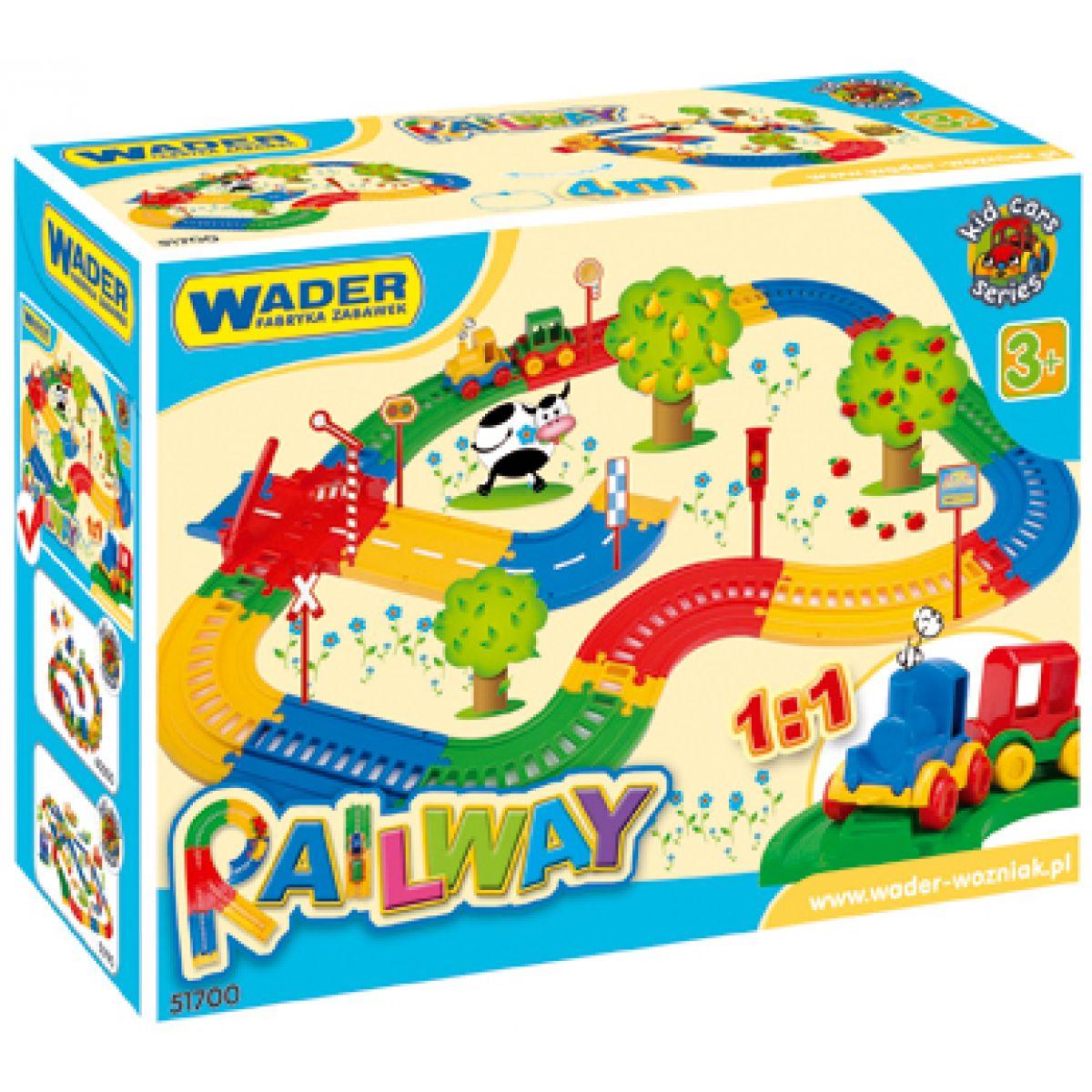 Železnice 4m Wader 51700