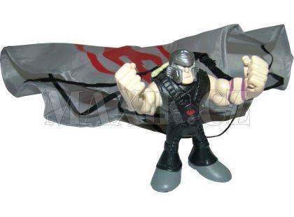 Želvy Ninja TMNT mini mutants sada s padákem a figurkou