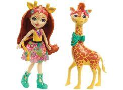 Enchantimals panenka s velkým zvířátkem Žirafa