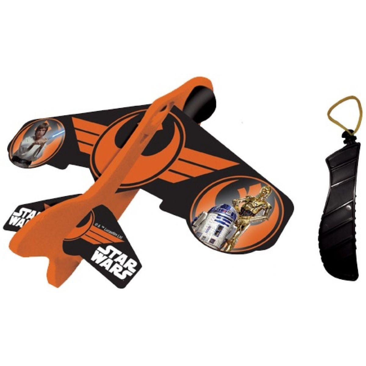 Eolo Sports Star Wars Ledadlo na gumu - Oranžovo-černá