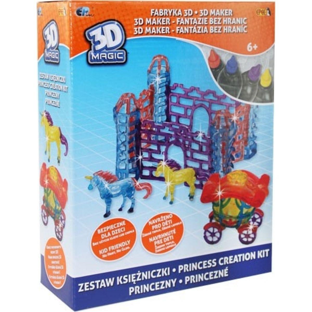 EP Line 3D Magic Deluxe - Princezny