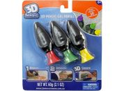 EP Line 3D Magic náhradní náplň 3ks fialová + tm.zelená + žlutá