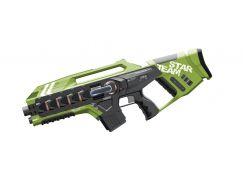 EP Line Laser game sada se dvěma velkými zbraněmi zelená-modrá